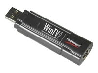Hauppauge  WinTV MiniStick/DVB-T USB2.0 Hi-Sensitivity FREEVIEW TV tuner for Windows 8, 7, XP+MCE -allows you to watch and record FREEVIEW digital channels in high quality and stereo sound. Includes remote control. Vendor pn 294.