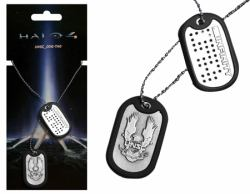 halo 4 HALO 4 UNSC Dog Tags with Brushed Metal Finish (GE0431)