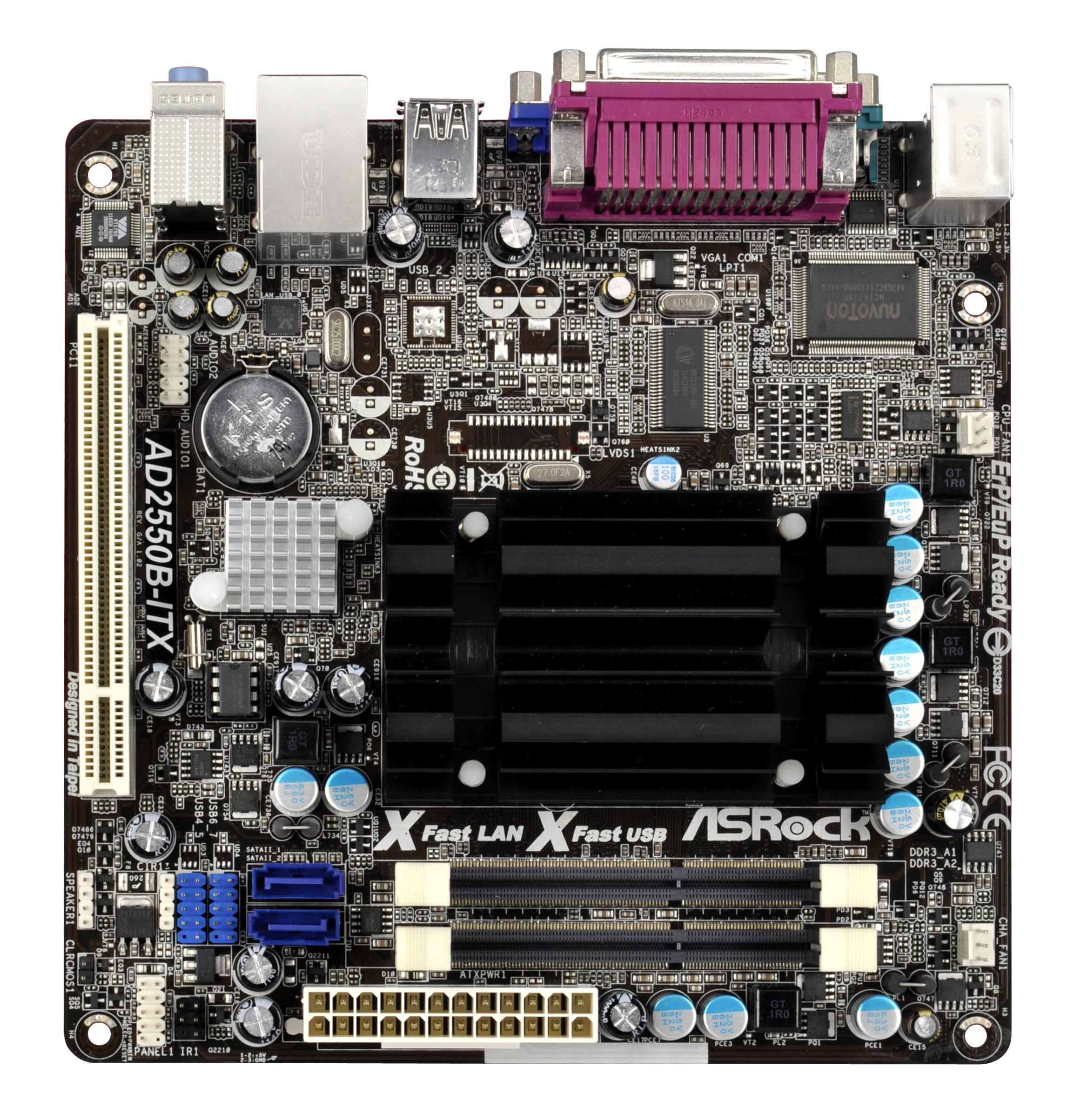 ASROCK AD2550-ITX XFAST RAM DRIVER DOWNLOAD