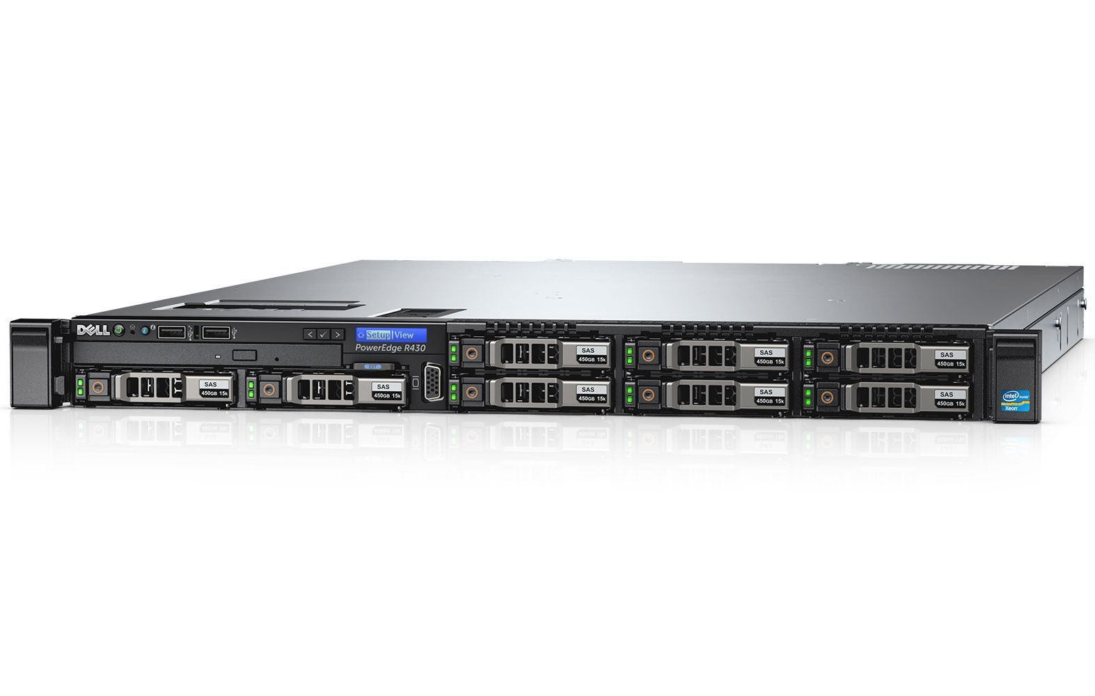 ff90c26cf7 DELL 210-ADLO - DELL PowerEdge R430 server 2.4 GHz Intel Xeon E5 v3 ...