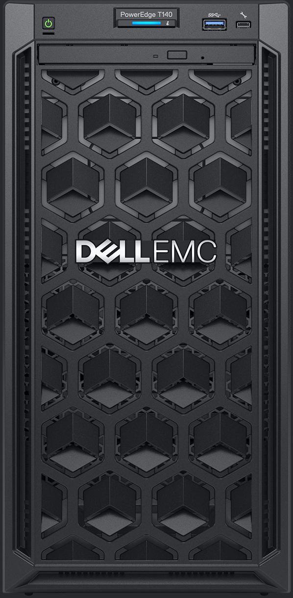 DELL PowerEdge T140 server 3 3 GHz Intel® Xeon® E-2126G Tower 365 W