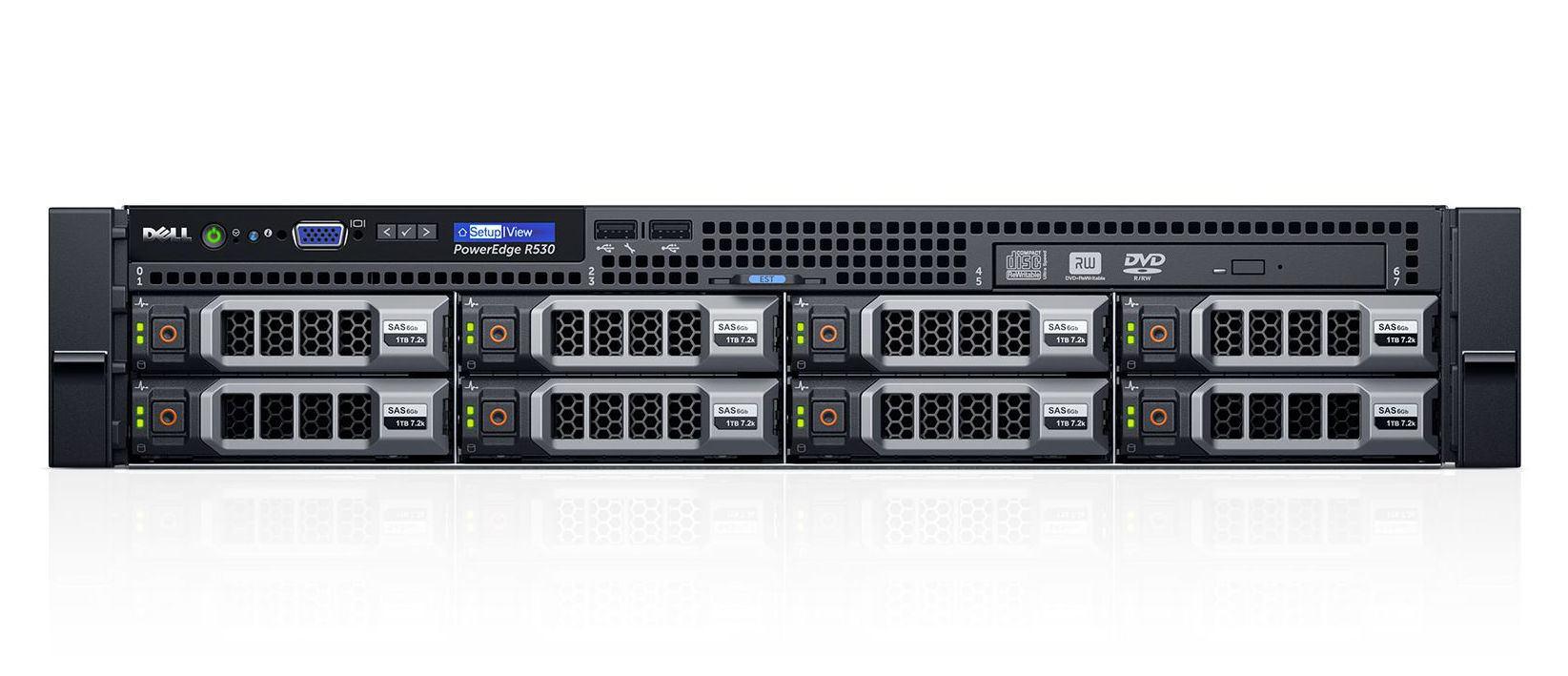 DELL R530-0695 - DELL PowerEdge R530 server 2 1 GHz Intel