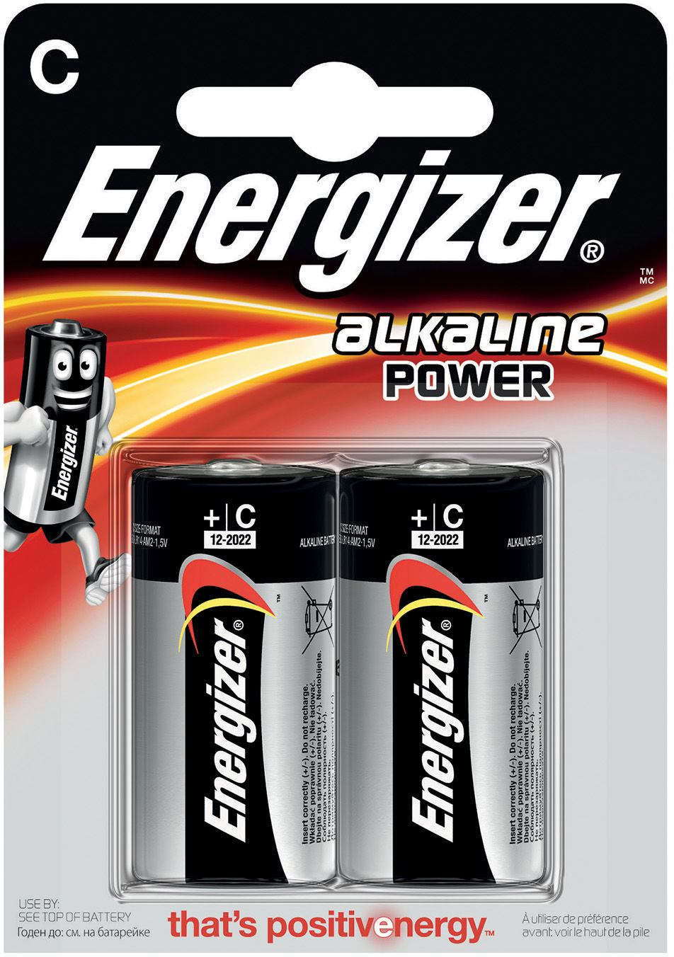 Energizer 7638900297324 Energizer Alkaline Power C Single Use