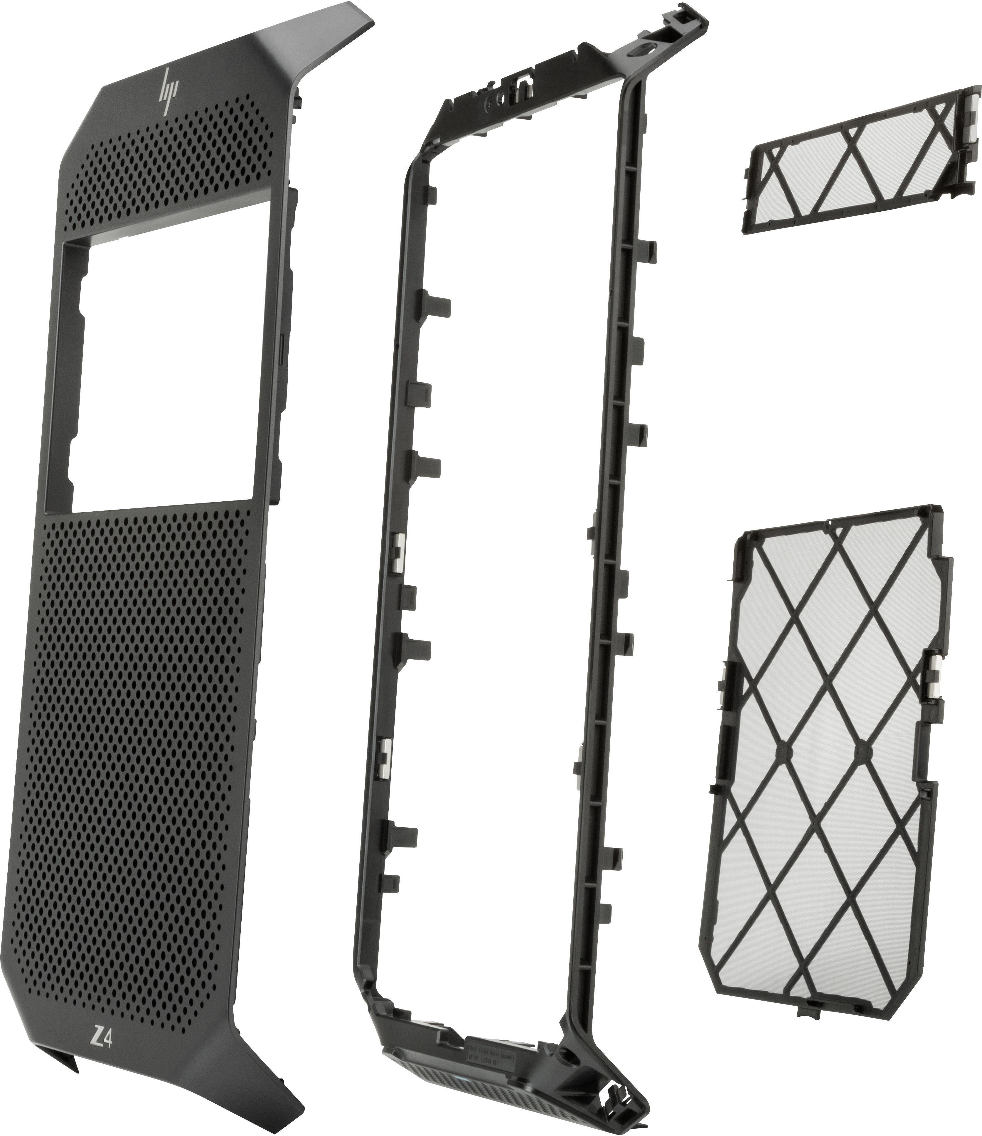 HP 3DY48AA computer case part Midi Tower Bezel