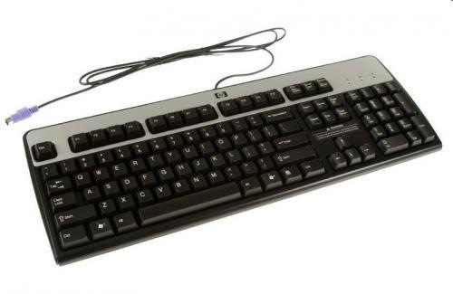HP 701428-251 keyboard PS/2 Russian Black
