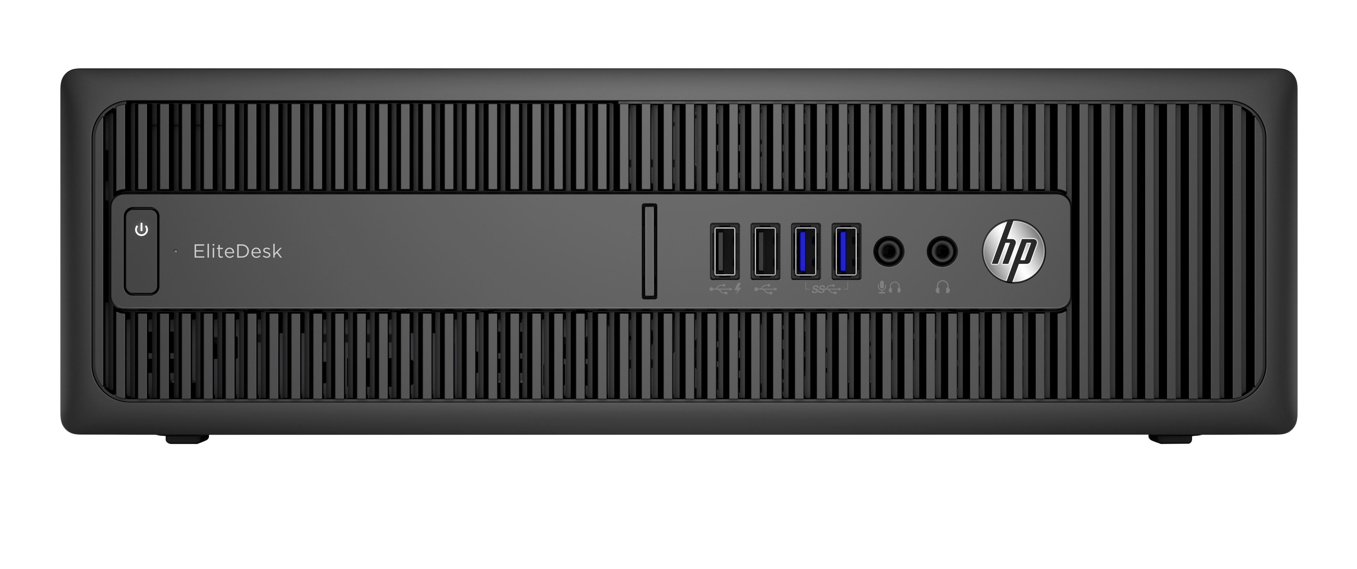 HP EliteDesk 800 G2 6th gen Intel® Core™ i5 i5-6500 4 GB DDR4-SDRAM 500 GB  HDD Black SFF PC