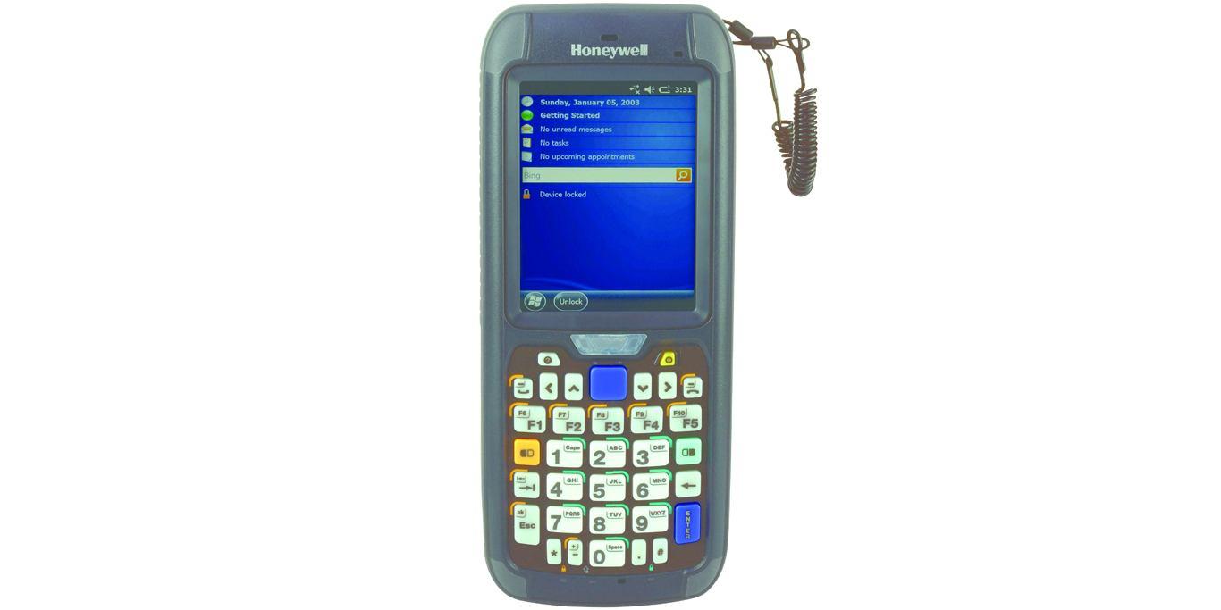 Honeywell CN75E handheld mobile computer 8 89 cm