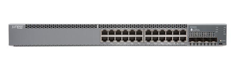 Juniper EX3400-24P Managed L2/L3 Gigabit Ethernet [10/100/1000] Grey 1U  Power over Ethernet [PoE]
