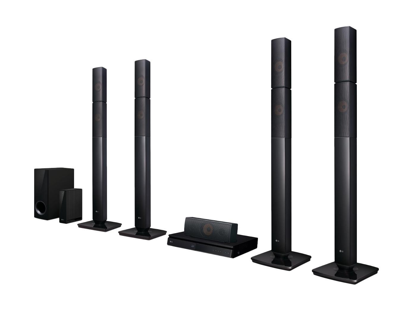 LG LHB655NW - LG LHB655NW home cinema system 3D 5 1 channels 1000 W