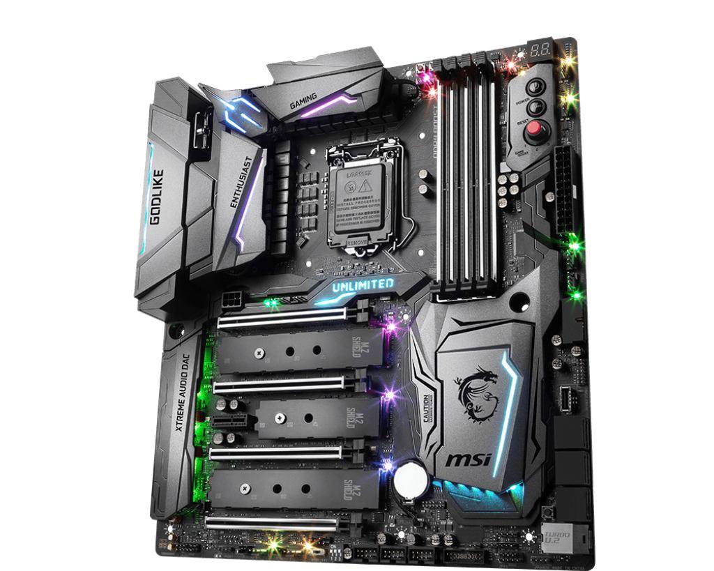 MSI 7A98-001R - MSI Z370 GODLIKE GAMING motherboard LGA 1151 [Socket