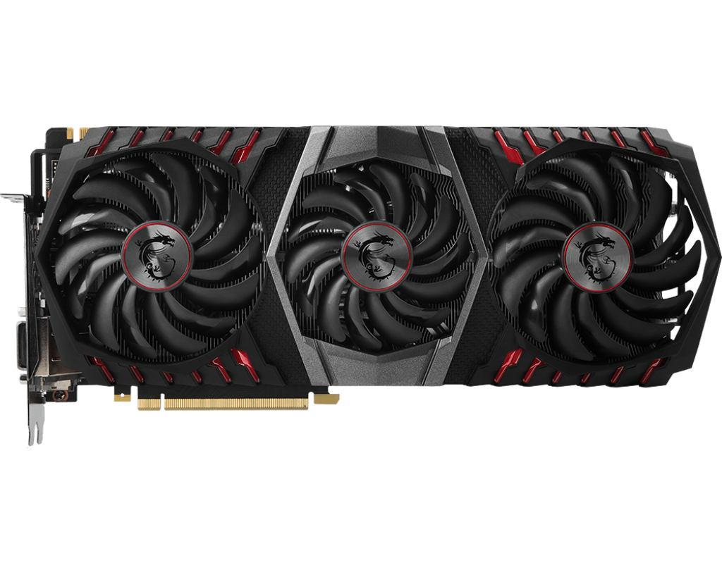 MSI GTX 1080 Ti GAMING X TRIO - MSI GeForce GTX 1080 Ti Gaming X Trio