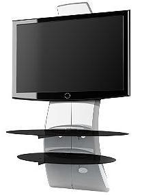 Meliconi Tv Meubel.Meliconi 488066bb Meliconi Ghost Design 2000 63 Fixed White