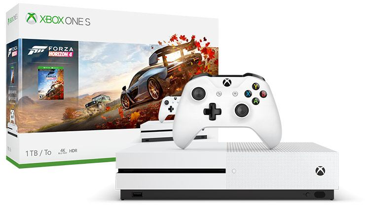 Microsoft Xbox One S Forza Horizon 4 Bundle 1TB White 1000 GB Wi-Fi