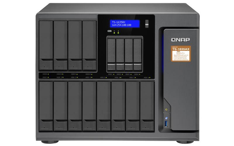QNAP TS-1635AX Ethernet LAN Desktop Black NAS