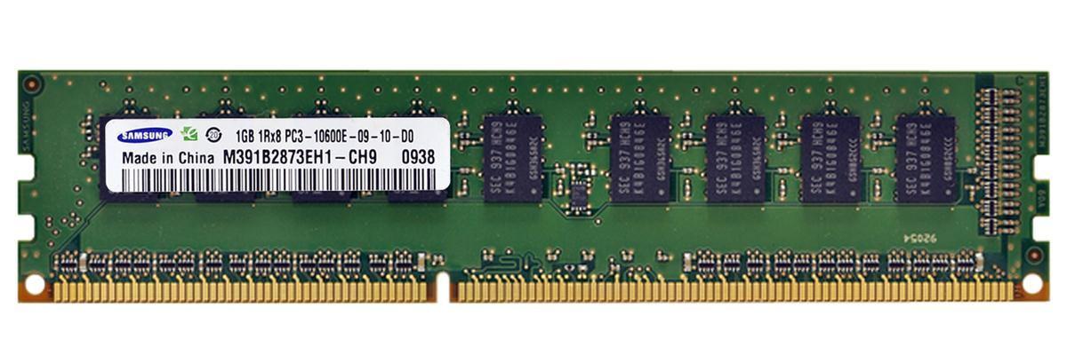 Samsung 1GB 1Rx8 pc3 10600e-09-10-d0