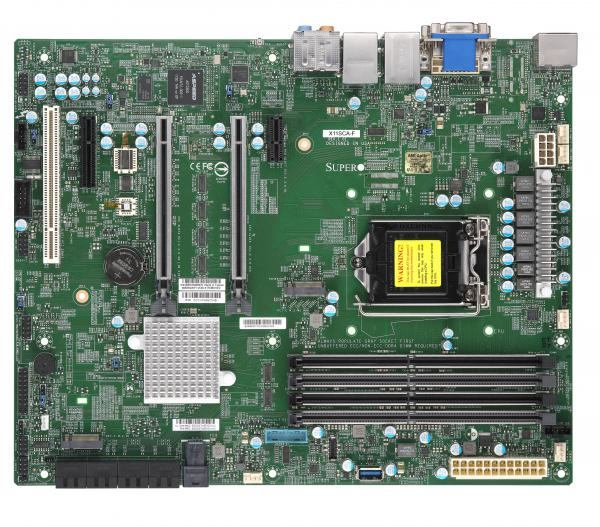 Supermicro X11SCA-F server/workstation motherboard LGA 1151 [Socket H4] ATX  Intel C246