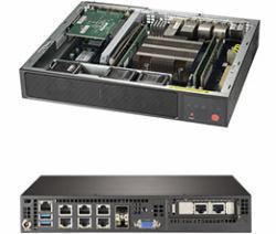 Supermicro SuperServer E300-9D-8CN8TP Intel SoC Black