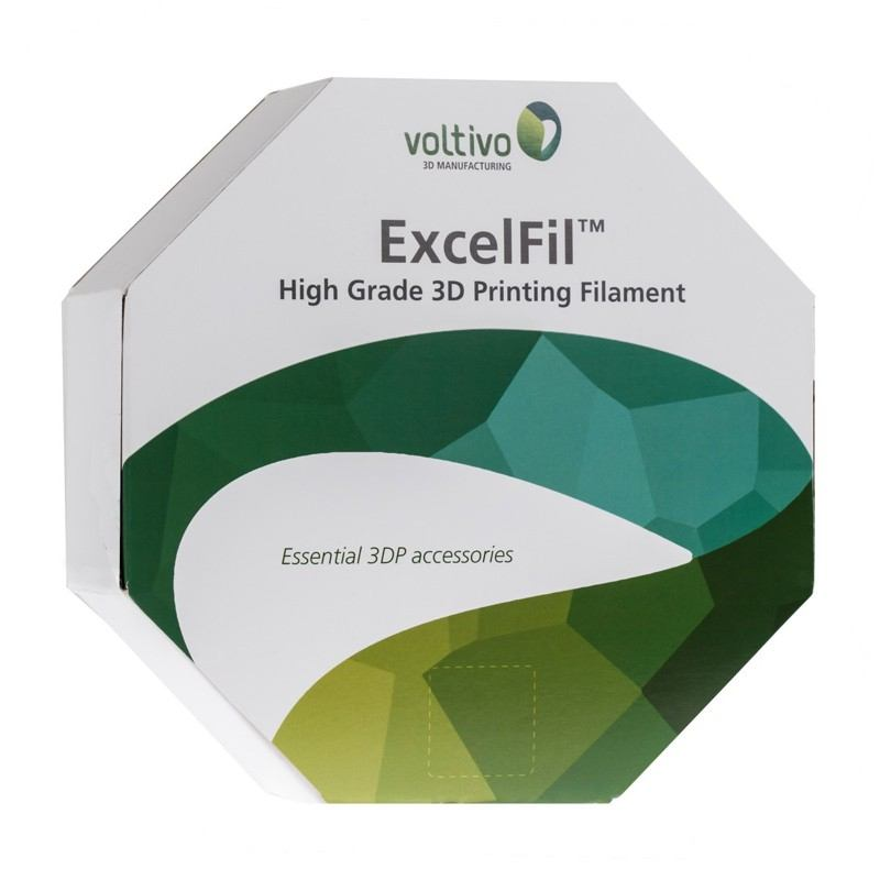 Ef-abs-300-trans Voltivo Excelfil High Grade 3d Printing Filament Abs 3mm Clear 3d Printer Consumables 3d Printers & Supplies