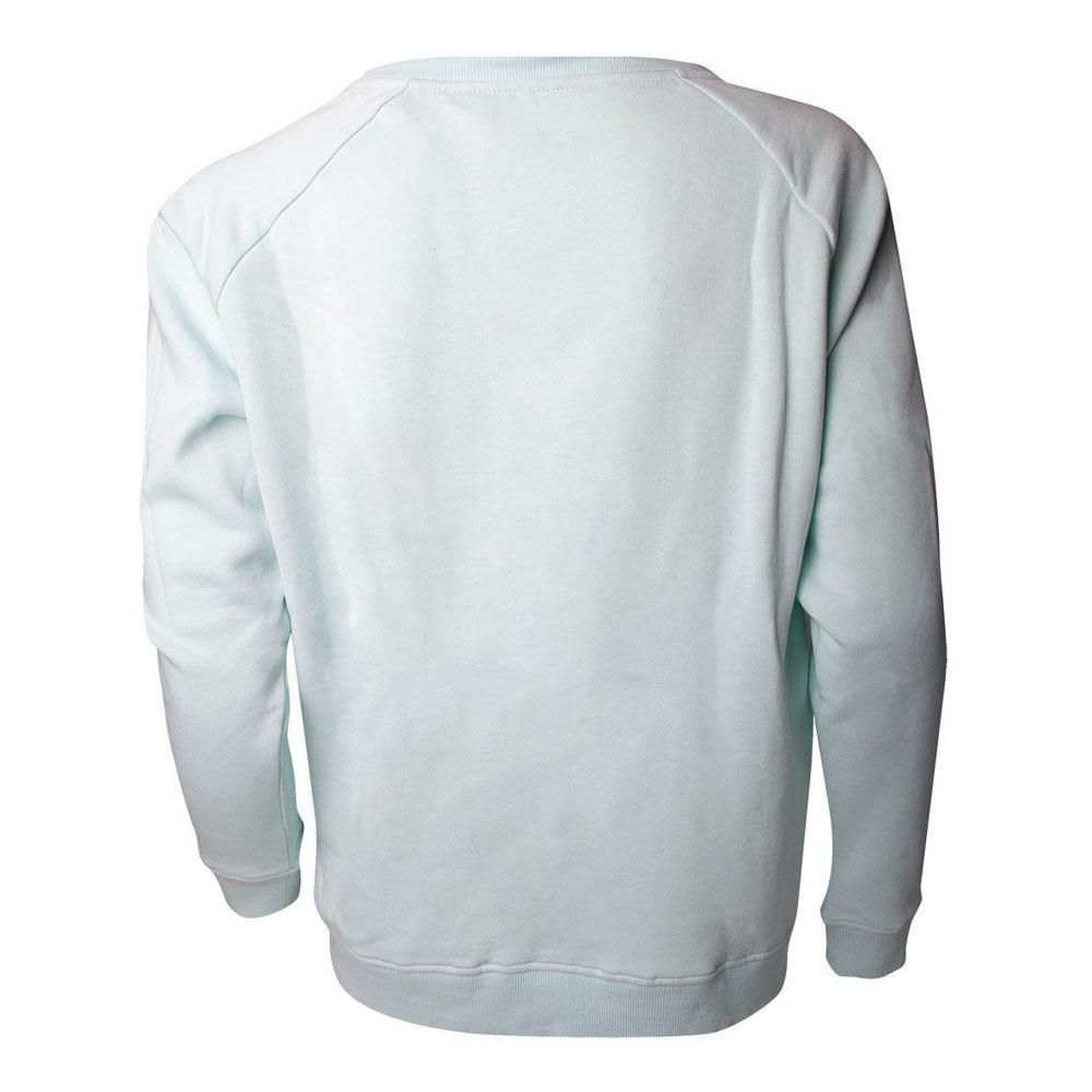 Aggretsuko Retsuko Rage Rainbow Sweater Female L Green SW631087AGG-L NEW