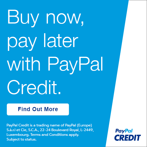 Buy now, pay later with Paypal Credit