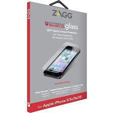 best service 1ab24 b9f1e ZAGG IP5HXF-F00 - ZAGG InvisibleShield HDX iPhone 5/5S/5C/SE Clear ...