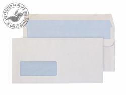 C4 Poche Enveloppe Imprimé Sécurité Intérieur SELF-SEAL 100gsm 324x229mm Blanc